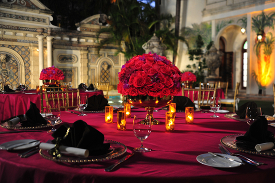 photo of Versace-Mansion-Wedding-Fuschia