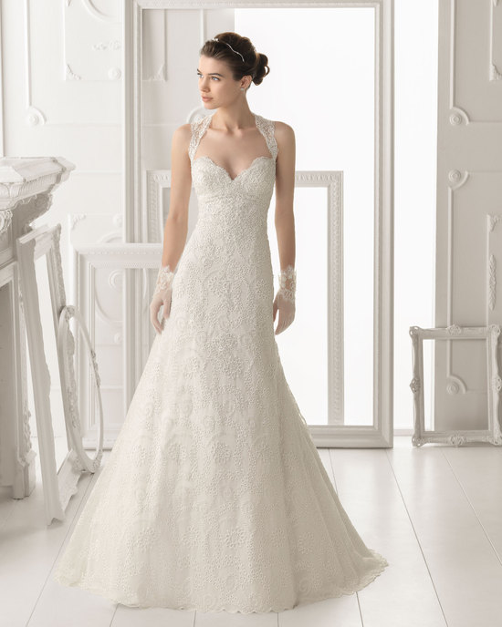 Aire Barcelona wedding dress 2014 Bridal Otonal