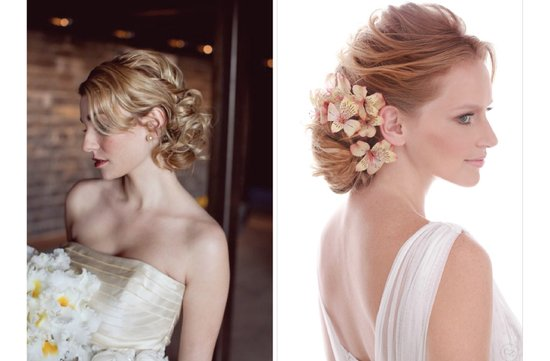 photo of braided wedding hairstyles bridal updos