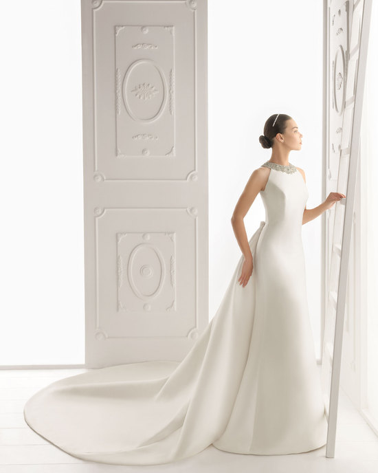 Aire Barcelona wedding dress 2014 Bridal Ornela