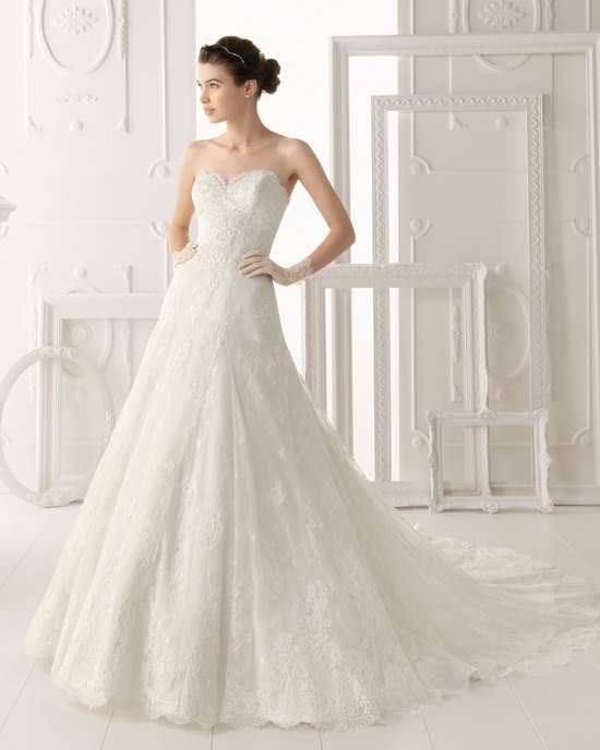Aire Barcelona wedding dress 2014 Bridal Overol