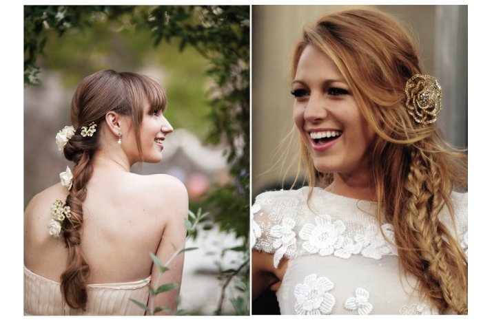 celeb inspired wedding hair