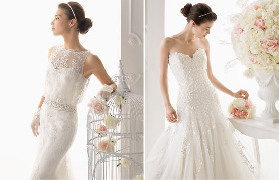 Aire Barcelona wedding dress 2014 Bridal Collections 2