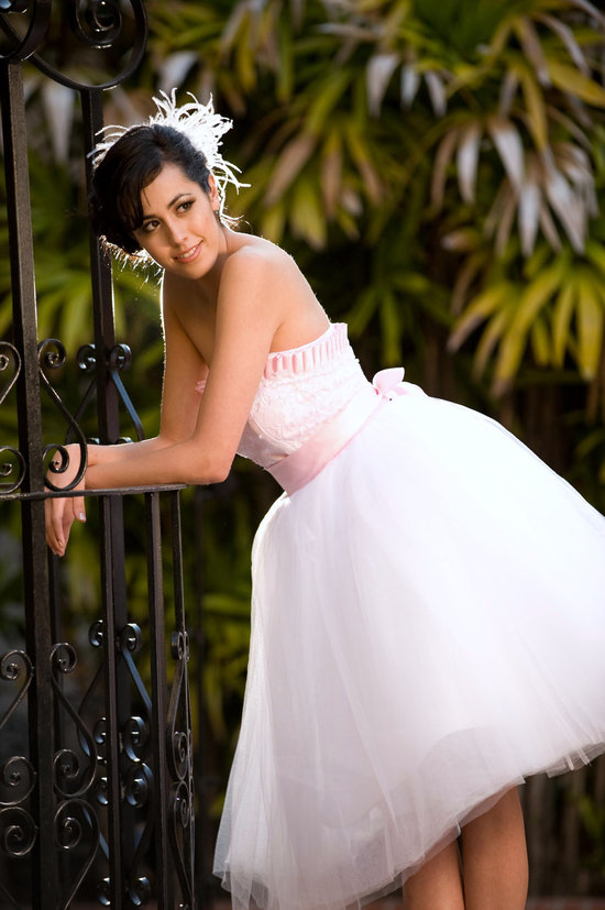 photo of Isabel tea length wedding dress