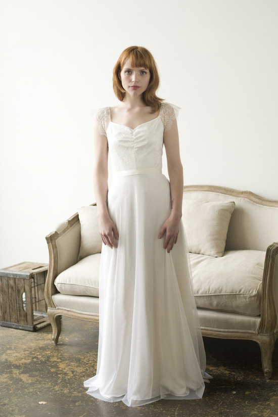 Honeychurch wedding dress by Elizabeth Dye