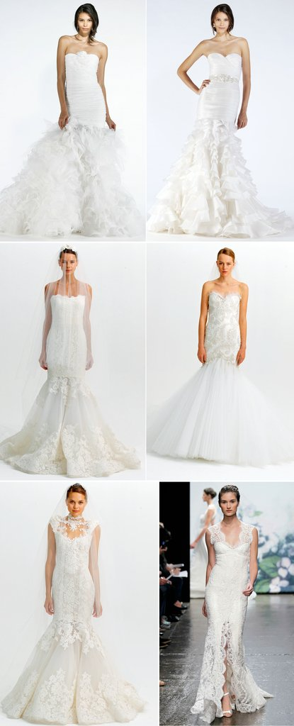 photo of Favorite Mermaid Wedding Dresses of 2012