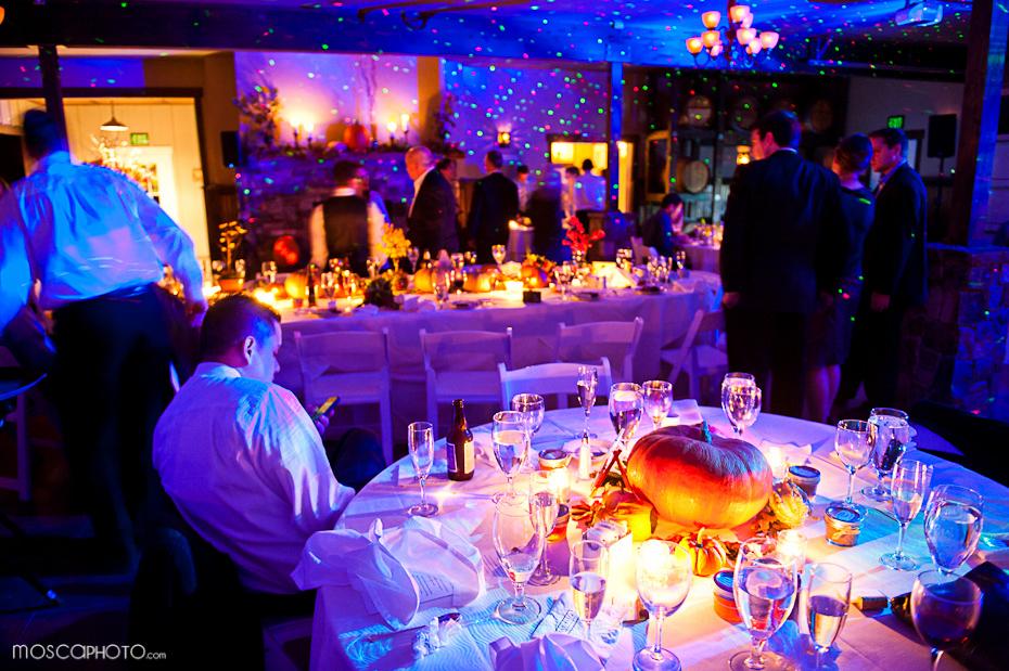 Fall Wedding Reception Decor Tablescape