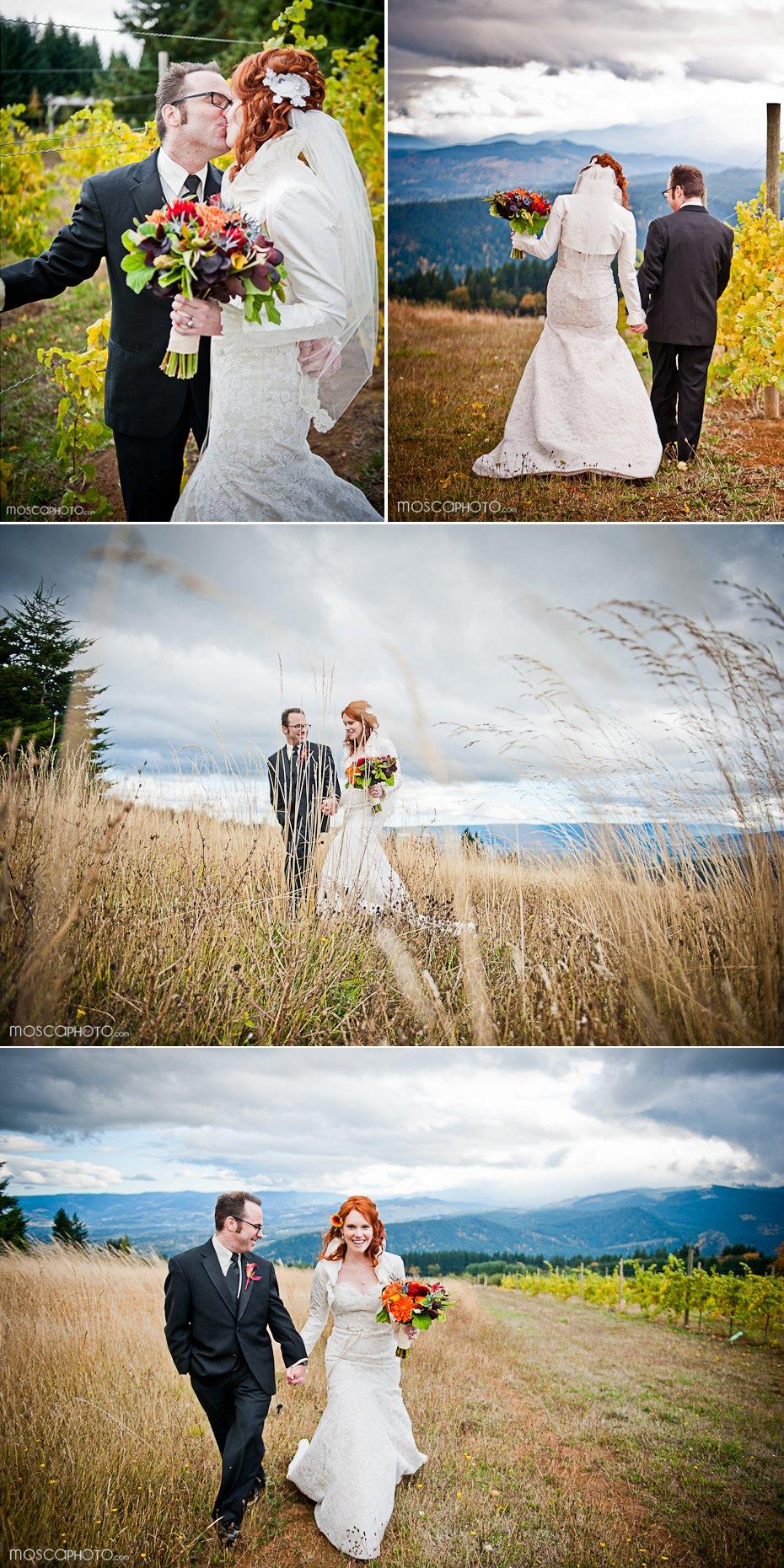 Bride-groom-fall-wedding-ivory-wedding-dress-lace-outdoor-ceremony.full