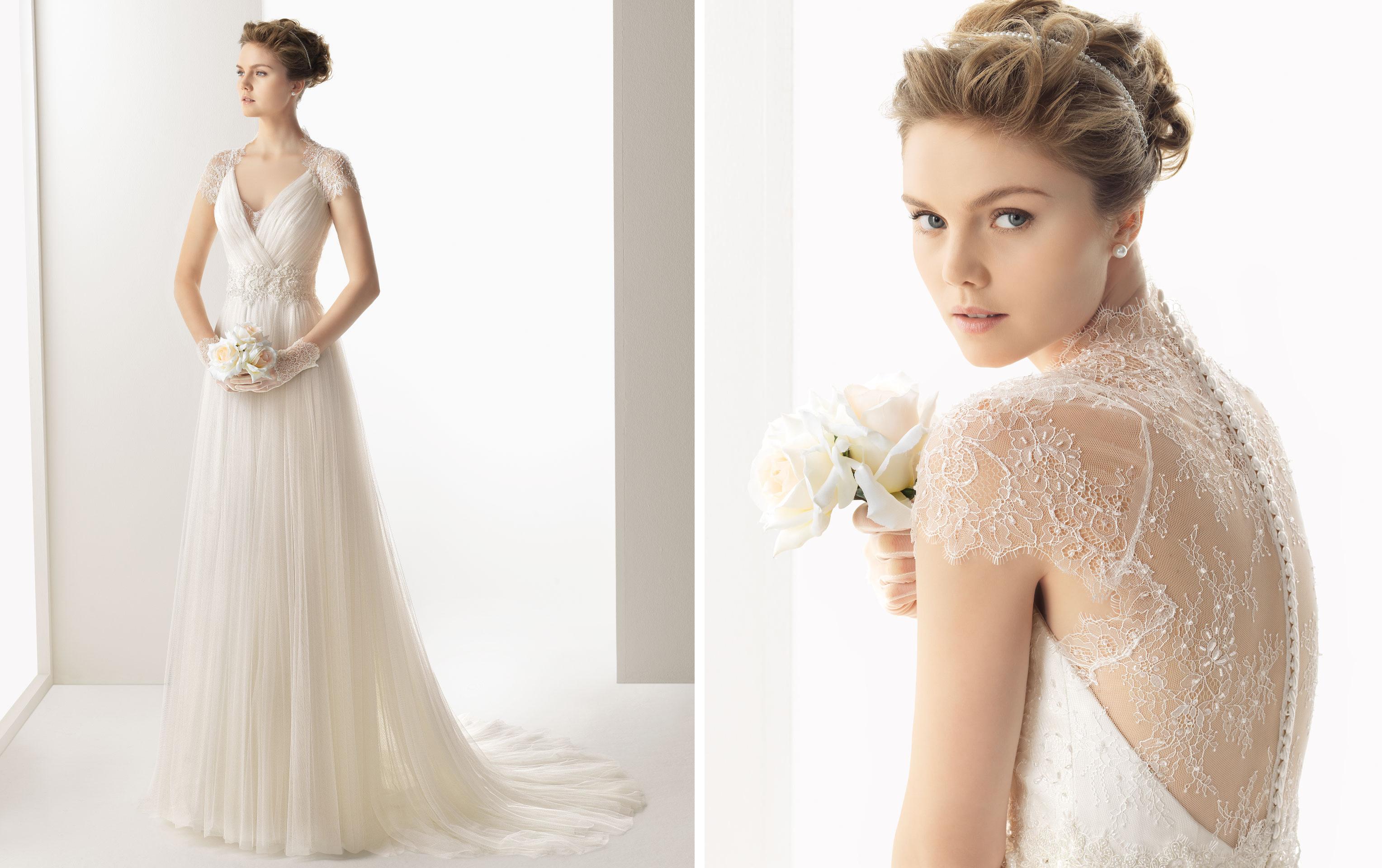 2014 wedding dresses from rosa clara soft bridal for Wedding dress rosa clara