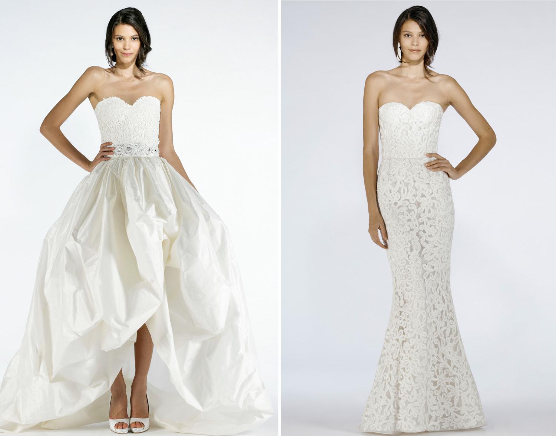 2012 Wedding Dresses Oscar De La Renta Corsets