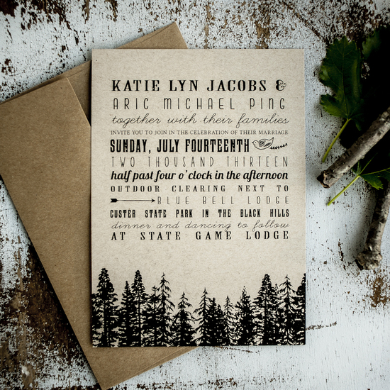 New Color Wedding Invitations