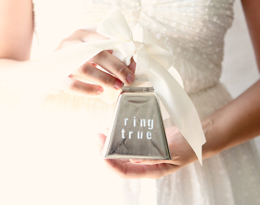 wedding ring bearer pillow alternatives silver bell