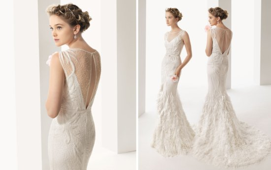 photo of 2014 wedding dresses from rosa clara soft bridal collection 7 original