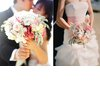 Romantic-wedding-flowers-bridal-bouquet-bride-groom-kiss.square