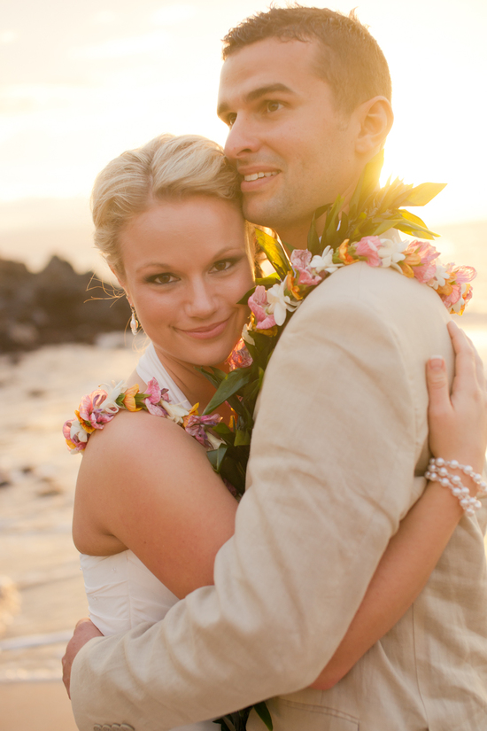 photo of Exotic Beach Wedding in Maui