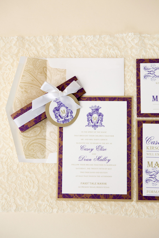 Sarah Stahl Wedding Invitations