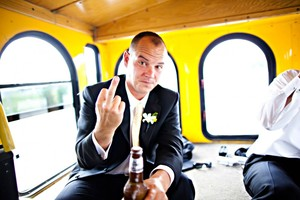 photo of funny wedding photos reasons to stay sober at reception 7