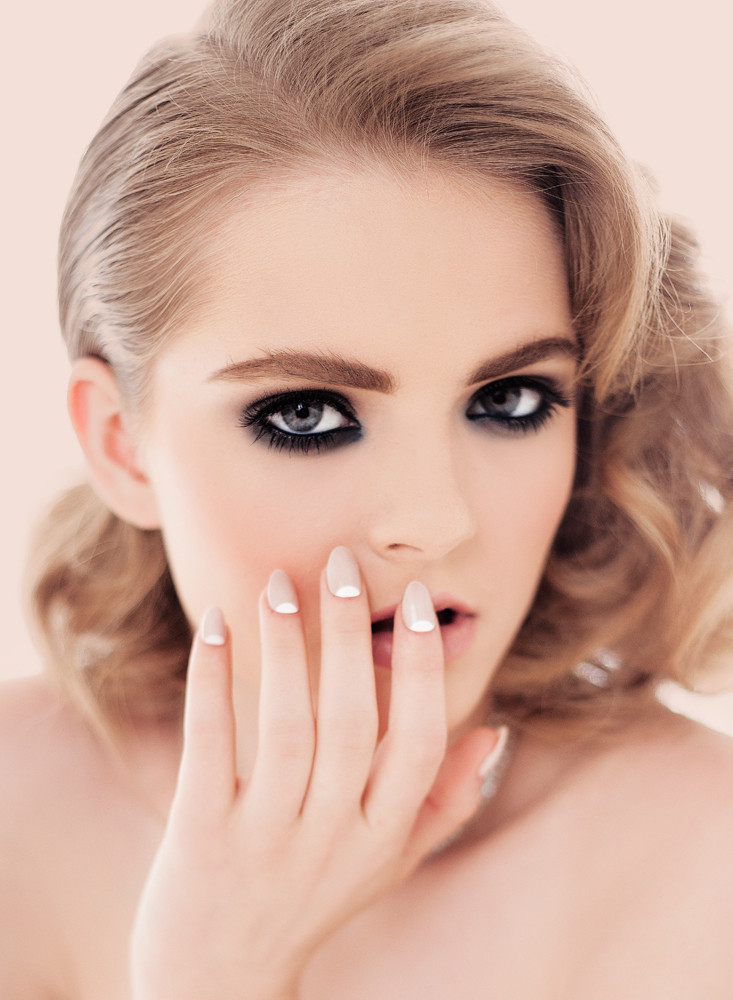 White-aisle-perfect-wedding-nails-and-makeup.full