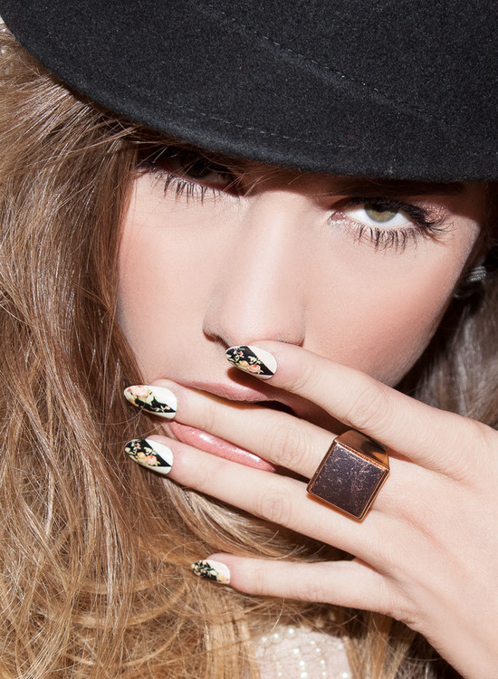 photo of En Vogue nail wraps for summer 2013 brides