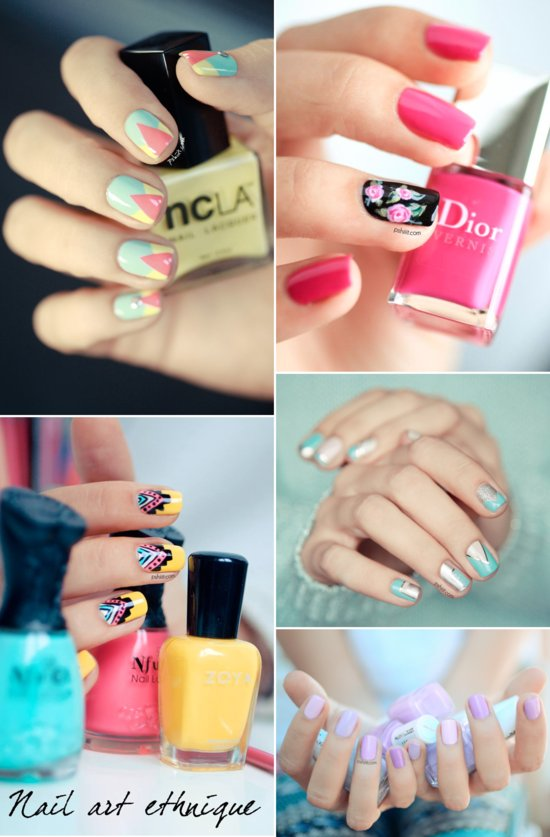 Summer 2013 wedding nail art and manicure inspiration 2