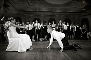 photo of Ditch the Garter Toss, Save It for Your Groom!