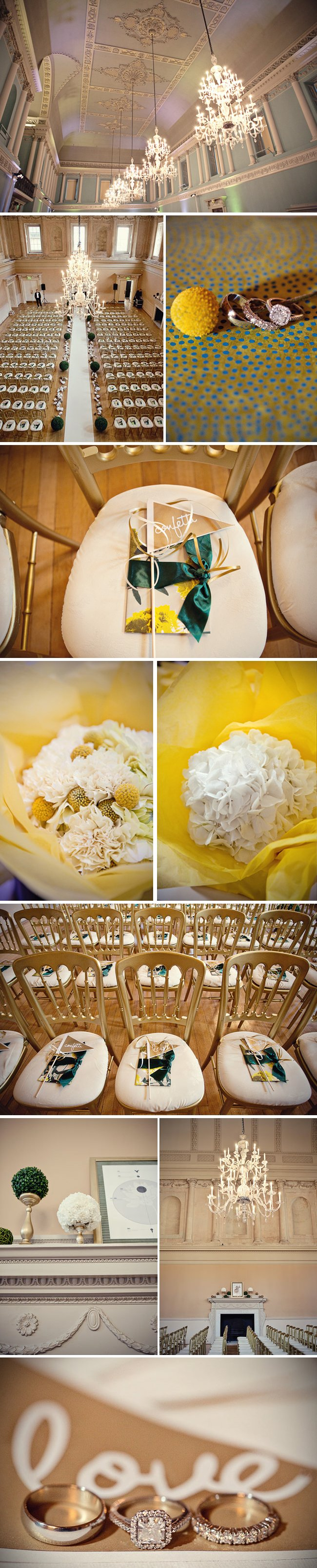 Real-weddings-chic-downtown-london-wedding-venue-yellow-wedding-flowers.full