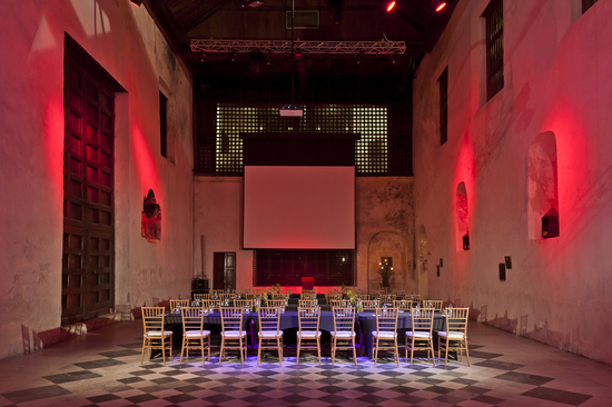 Wedding reception decor inspiration Sofitel Cartagena Capilla