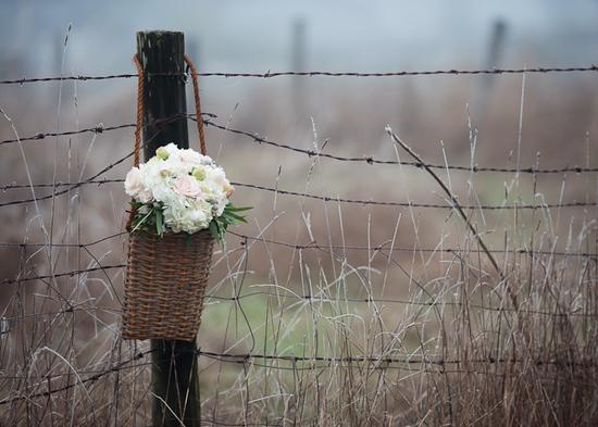 photo of Winter White Wedding Flowers