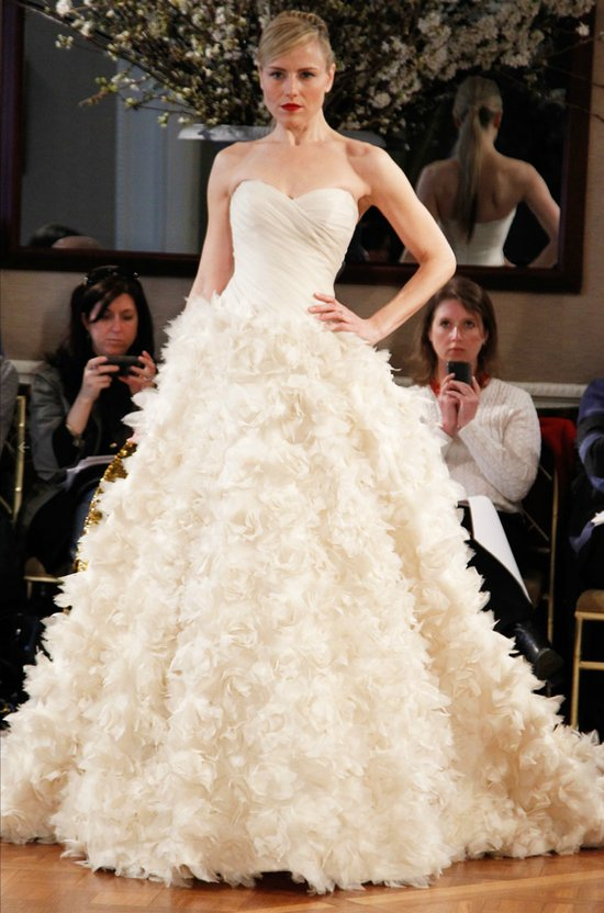 romona keveza 2012 wedding dress ballgown