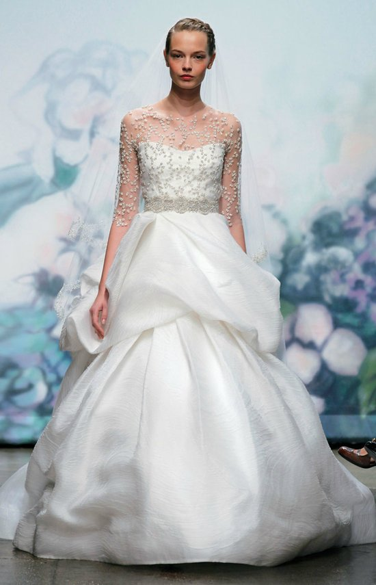photo of Favorite Ballgown Wedding Dresses of 2012