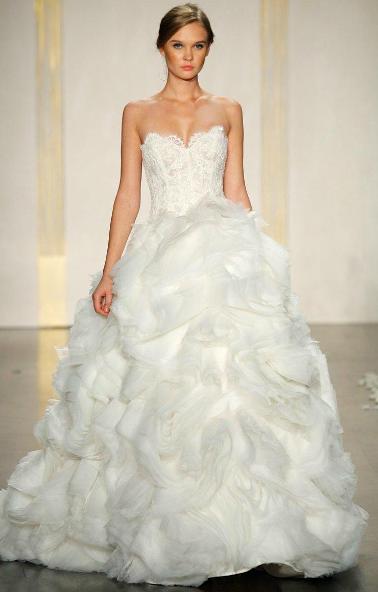 2012 wedding dress ballgown lazaro