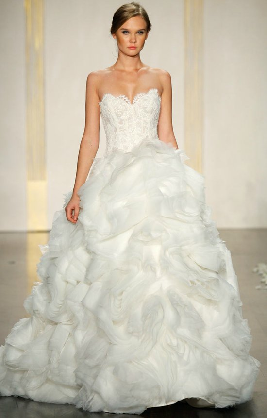 2012 wedding dress ballgown lazaro