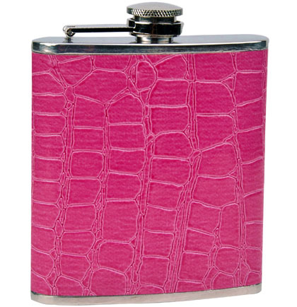 flask hot pink