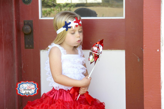 Fourth of July Junior Bridesmaid