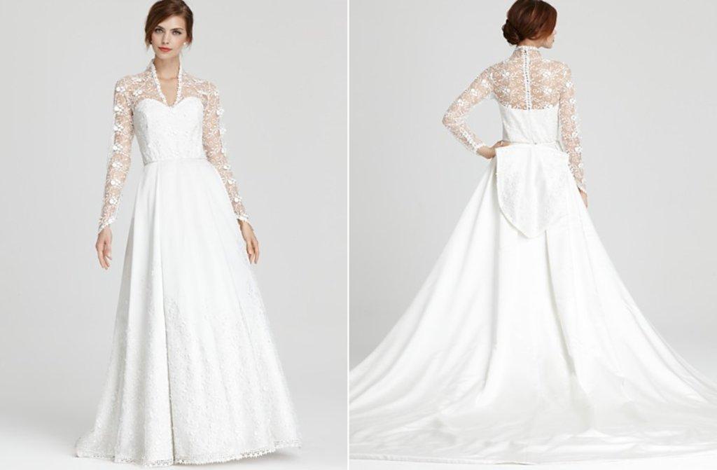 Aire barcelona kate middleton inspired wedding dress junglespirit Gallery