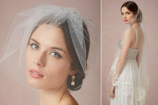 BHLDN wedding veils 2013