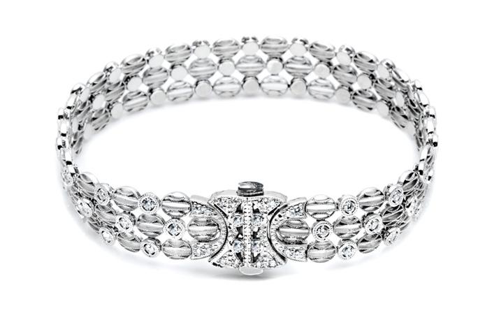 white gold diamond wedding bracelet tacori onewed com