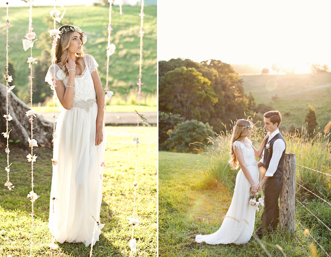 Grace Loves Lace Beach Wedding Dresses And Veils 3 Onewed Com