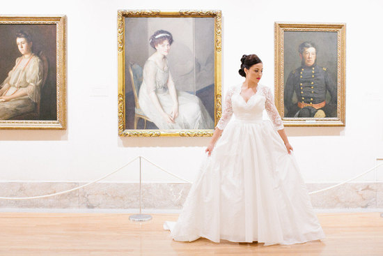 Kate Middleton Inspired handmade wedding dress