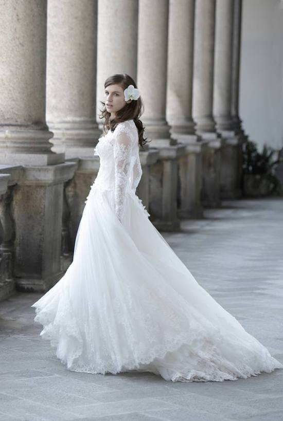 New Wedding Dress Collection from Alberta Ferretti Forever Bridal Hermitage