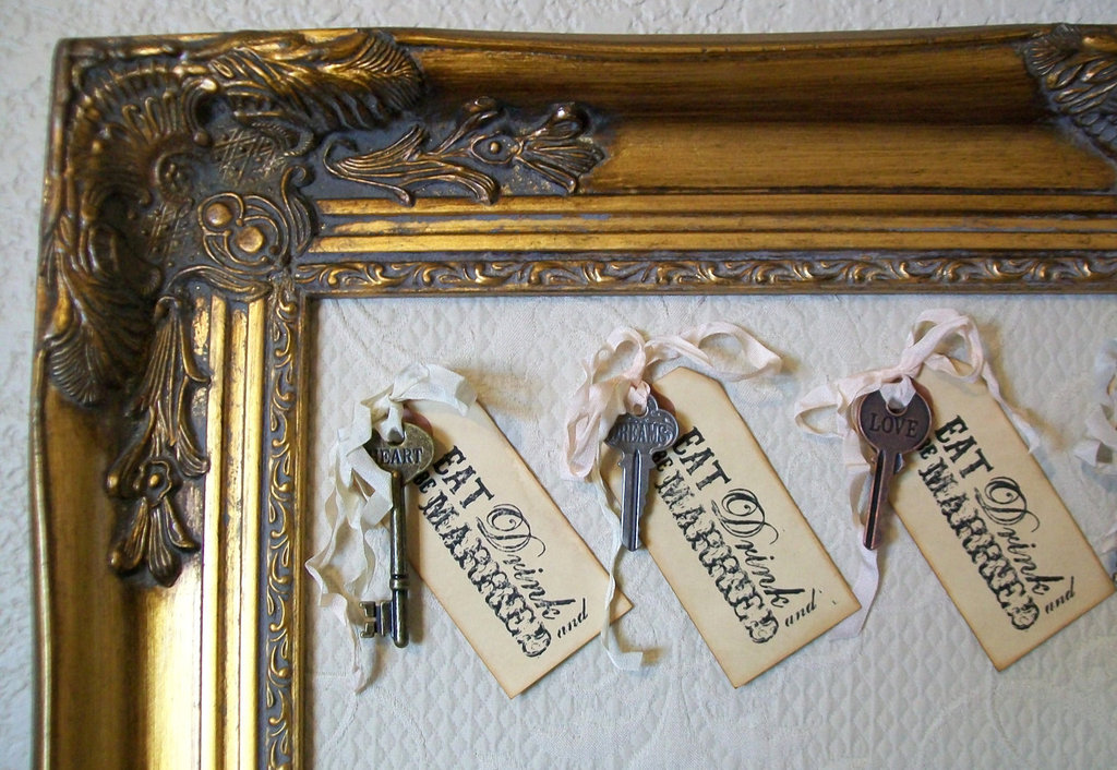 Eat Drink Be Married wedding escort cards