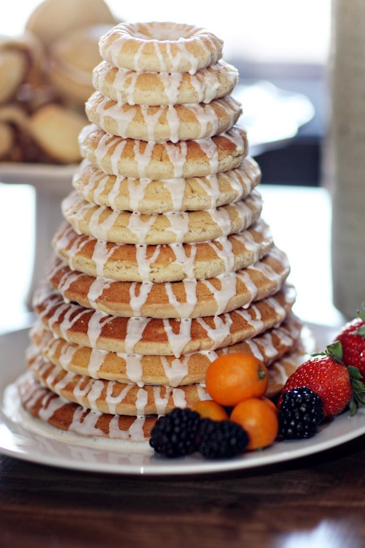 Unique wedding cake alternative Scandinavian delight