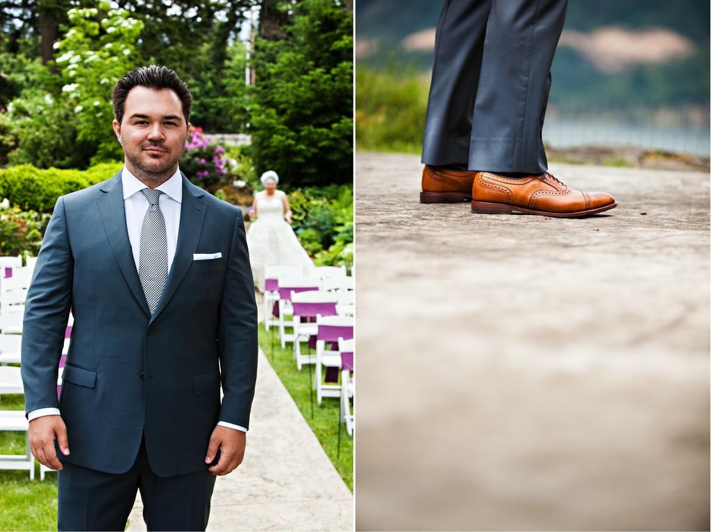 Amazing Groom In Blue Suit Crest - Wedding Ideas - nilrebo.info