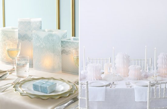 5 ideas inexpensive wedding reception tables centerpieces