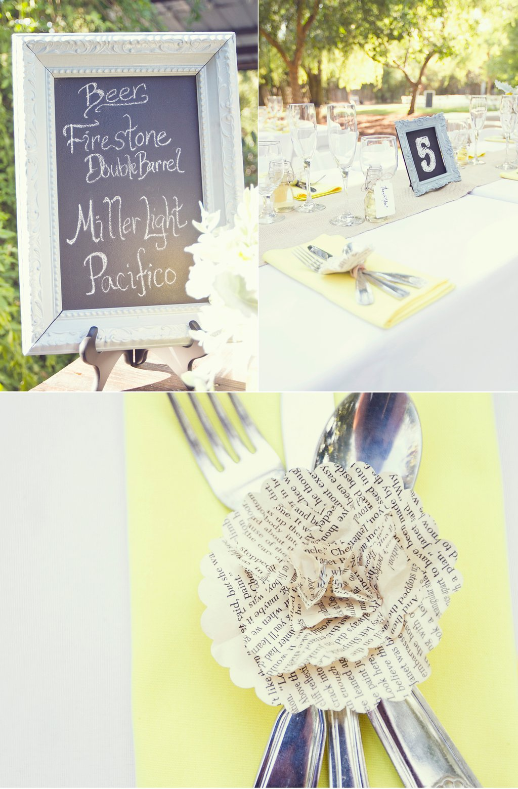 Yellow-white-vintage-wedding-reception-decor-chalkboard-chic.full