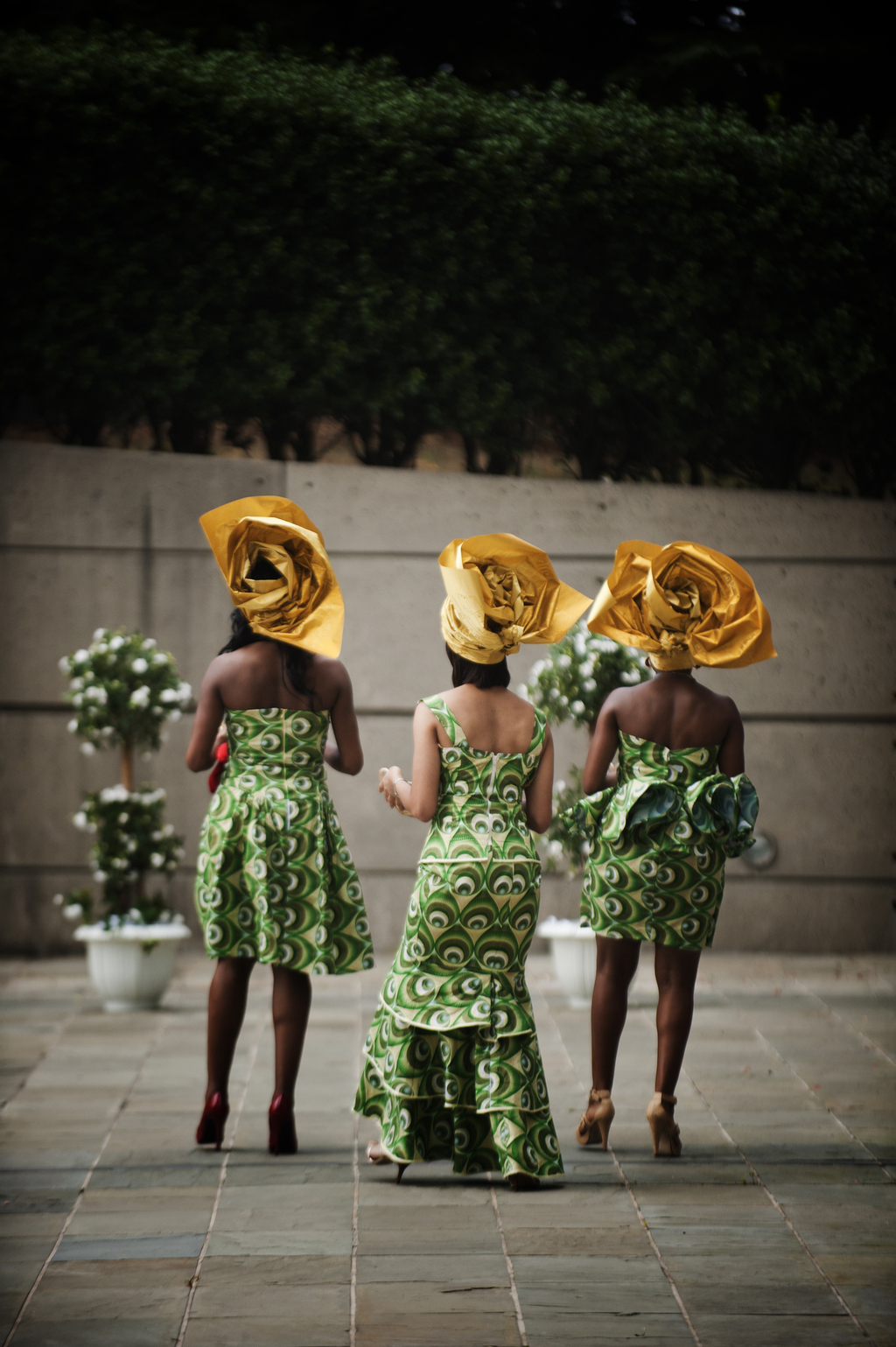 Awesome Chicago wedding photographers Studio This Is African headdresses