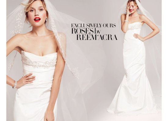 Roses by Reem Acra Bridal from Nordstrom Wedding Suite