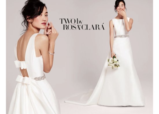 Two by Rosa Clara Bridal from Nordstrom Wedding Suite