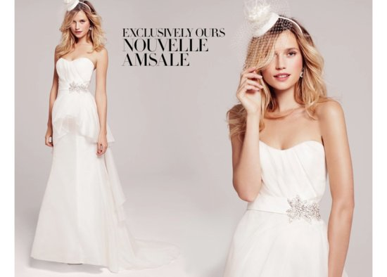 Nouvell Amsale Bridal from Nordstrom Wedding Suite
