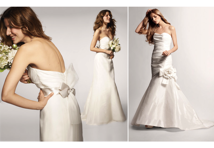 Nouvelle amsale wedding dress for nordstrom for Nordstrom dresses for wedding